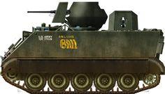 M113 ACAV Ball love 1st Sqn, 11th Arm Cav Rgt 1960s.