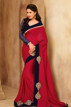 #designer #sarees @ http://zohraa.com/maroon-faux-georgette-saree- z2930pwovenheritage1373-6.html  #designersaree #anarkali #zohraa #onlineshop #womensfashion #womenswear #bollywood #look #diva #party #shopping #online #beautiful #beauty #glam #shoppingonline #styles #stylish #model #fashionista #women #lifestyle #fashion #original #products #saynotoreplicas