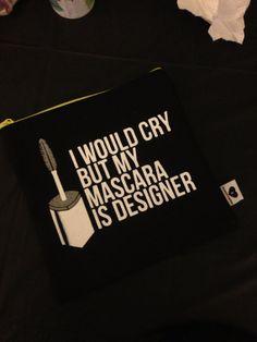 Mascara Bag Clutch by BreakupstoMakeup on Etsy, $35.00