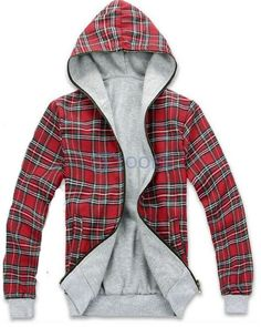 Red Plaid Cap Design Lovers Hoodie... OMG, I absolutely love this!!