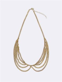 COLLIER FEMME COL CLAUDINE OR