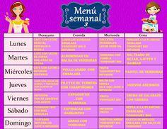 dieta hipocalorica plan semanal
