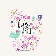 """54 Likes, 4 Comments - @mademoiselleyo on Instagram: """"Hello April, enjoyed spring, have good time this month, new cards and posters on the shop…"""""""