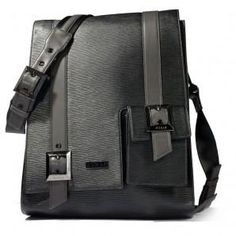 Frankfurt Stripe textured messenger bag ideal for carrying laptops and file folders. Interior pockets to hold pens, keys, cell phones. Signature Lining fabric. Custom hardware, Italian Zippers. Made in USA. http://www.luxandeco.com/OnlineCatalog/Frankfurt-details.aspx