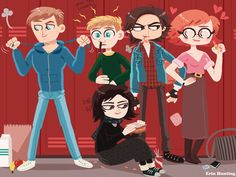 The Breakfast Club! by Erin Hunting