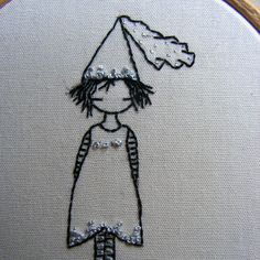 Free embroidery pattern by lili_popo, via Flickr