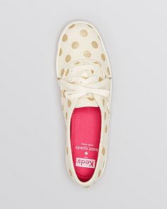 Keds® for kate spade new york Lace Up Sneakers - Kick | Bloomingdale's $75 NEED!
