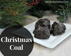 Christmas Coal Ingredients: 1 package Oreo cookies, finely crushed 5 cups miniture marshmallows 4 Tbls. butter