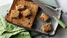 Honey and Ginger Flapjacks. The best flapjacks are gooey, chewy and, above all, simple. These fruit-filled treats are great to make with children. Bbc Good Food Recipes, Cooking Recipes, Yummy Food, Easy Flapjacks, Flapjack Recipe, Sweet Wine, Honey Recipes, Breakfast Bars, Breakfast Ideas
