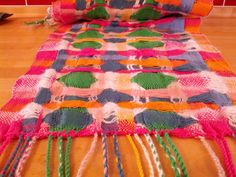 deflected double weave for clowns | cotton + wool + nylon