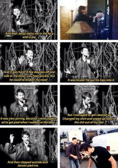That... Was one of the funniest things...... Poor Misha #Supernatural