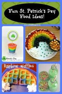 10 Kid Friendly Fun St. Patrick's Day Food Ideas!