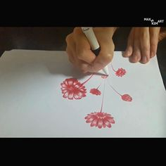 Flowers (full video - drawing flowers)