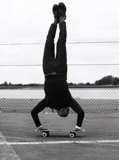 Perfect outfit for skateboarding ~ Old Man Fancy.