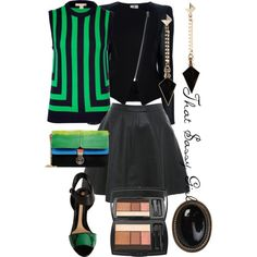 Wearing Emerald Green by seepz-sc on Polyvore