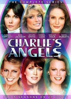 Six Charlie's Angels Jaclyn Smith, Good Morning Angel, Action Tv Shows, Mystery Show, Strong Female Characters, Kate Jackson, Cheryl Ladd, Farrah Fawcett, Presents For Men