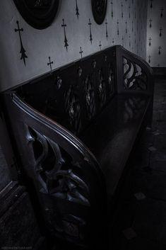 "Goth:  #Haunted #Mansion ~ ""Sychrov_23,"" by Aderhine, at deviantART."