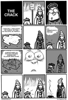 To celebrate this frigid & blustery New England day, a previously unpublished comic from 2005.