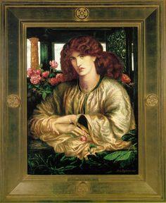 Finestra - Dante Gabriel Rossetti