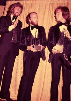 Bee Gees (1979) - The Bee Gees won Best Pop Vocal Performance by a Duo or Group for the Saturday Night Fever Soundtrack.