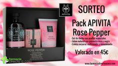 Sorteo Pack Apivita Rose Pepper