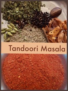 Tandoori Masala – Foodfellas 4 You Homemade Spices, Homemade Seasonings, Masala Spice, Garam Masala, Curry Spices, Spice Mixes, Spice Blends, Chutney Recipes, Seasoning Mixes
