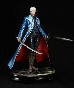 Buy Models - Devil May Cry 3 Statue - Vergil Artfx - Archonia.com
