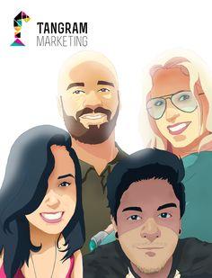 Equipe Tangram Marketing  por: Aleks Omena