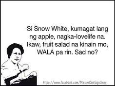 Filipino Lines and quotes Rhix Cathy Filipino Quotes, Pinoy Quotes, Filipino Funny, Tagalog Love Quotes, Emo Quotes, Jokes Quotes, Crush Quotes, Tagalog Quotes Patama, Tagalog Quotes Hugot Funny