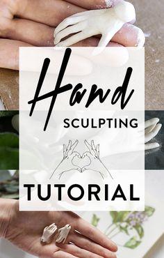BJD hand sculpting tutorial, doll making instructions, BJD making tutorial, create BJD on your own, art doll hands tutorial, hands anatomy sculpting #bjd #artdolls #tutorial #balljointeddoll