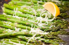 Kathie Cooks...: Parmesan Roasted Asparagus---my go to recipe all the time--quick, easy and delicious.