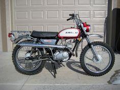 "1969 Kawasaki C2TR ""Roadrunner""  120cc with dual range transmission"