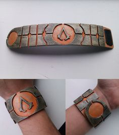 Assassin's Creed - Apple of eden inspired bracelet by Tha-Fire-Dude. I would definitely wear this!