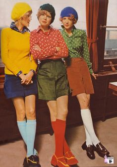 Groovy 70's -Colorful photoshoots of the 1970s Fashion and Style Trends