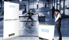 Stoisko reklamowe dla marki Heven