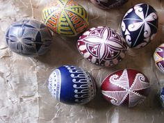 Bulgarian Easter eggs