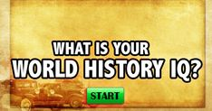 Well done! You answered enough of these questions correctly to be considered a true World History Genius! From the assassination of Julius Caesar, to World War II, to the Khmer Rouge, and the Magna Carta, you have an elite understanding and knowledge of world history! It is hard to capture all of world history in a 14-question quiz, but we like to think we hit on subjects and history from around the world. Most people really struggle with this quiz as it takes a fantastic memory and ...