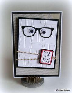 DAD U R SPECTACULAR handmade card
