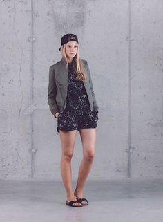 Wemoto — dámská kolekce oblečení jaro/léto 2015 / Wemoto — womens fashion — spring/summer 2015  #bomber #jacket #shorts #bunda #kratasy #wemoto #streetwear #fashion #german