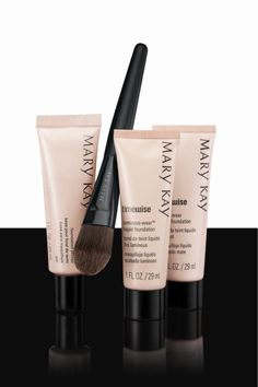 Mary Kay foundation primer and foundation are amazing. Makes you skin look flawless. Www.marykay.com/stacy2680