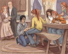 love Harry and Ginny! so sweet