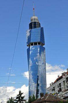 Avaz Twist Tower, Sarajevo, Bosnia & Herzegovina /