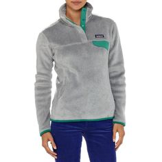 PATAGONIA WOMEN'S RE-TOOL SNAP-T® FLEECE PULLOVER size med