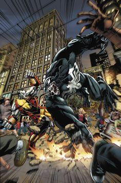 Colossus vs Venom by *BrianReber on deviantART