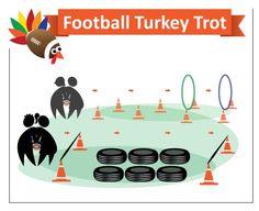 Football Turkey Trot Thanksgiving Game