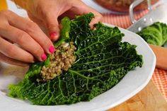 Kaalikääryleet täytetään maukkaalla tatti-kasvismuhennoksella. Raw Food Recipes, Healthy Recipes, Healthy Food, Seaweed Salad, Cooking, Ethnic Recipes, Koti, Healthy Foods, Kitchen