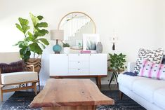 Mid Century Living Room Decorating Ideas
