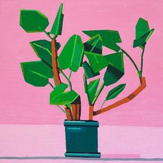 The Colorful Abstract Paintings of Guy Yanai
