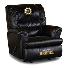 Imperial NHL Big Daddy Leather Recliner - IMP IMP 79-410