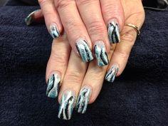 Mandy's nails. Gel nail art.